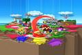 "Wii U - ""Paper Mario: Color Splash - Artworks""-Screenshot"